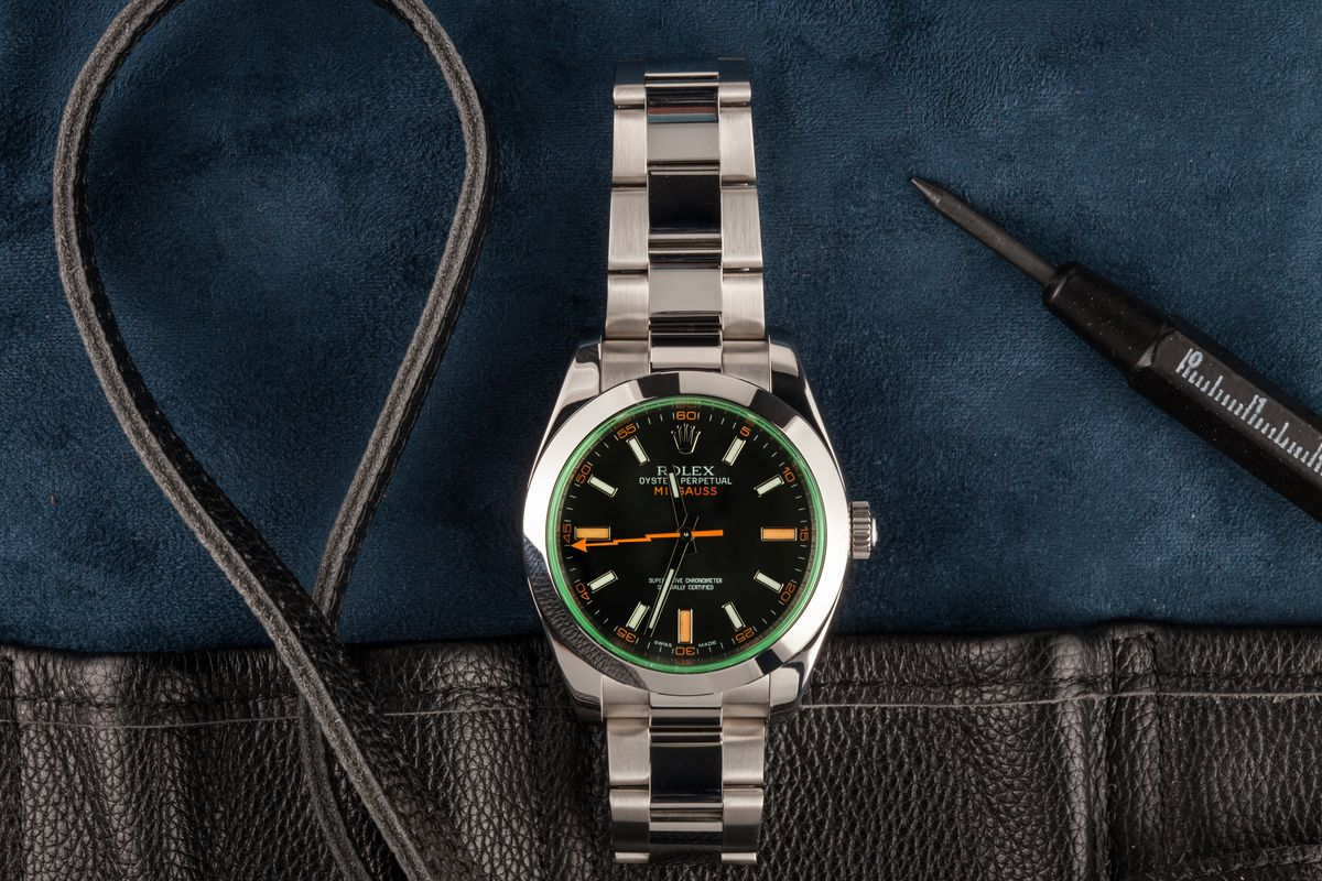 Best Watches Worn by Movie Stars Inside The Film Industry Rolex Milgauss