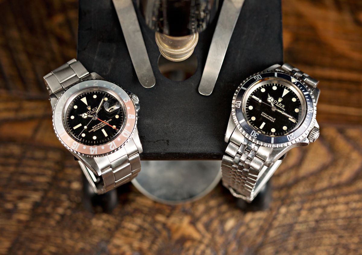Vintage Rolex Watches Buying Guide Submariner Pepsi GMT-Master