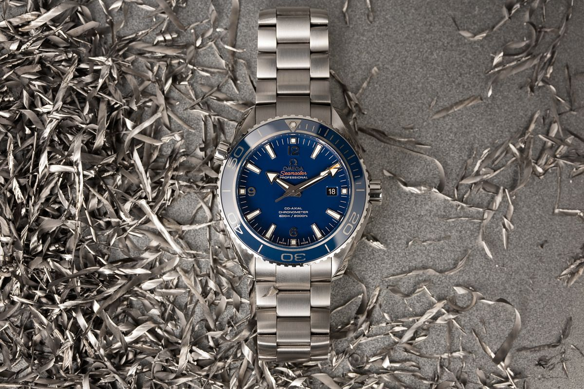 Omega Sports Watches Ultimate Guide Seamaster Planet Ocean Titanium