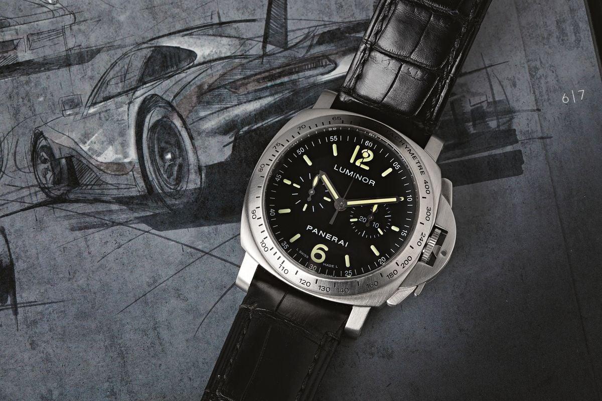 Best Racing Watches Panerai Luminor Chronograph