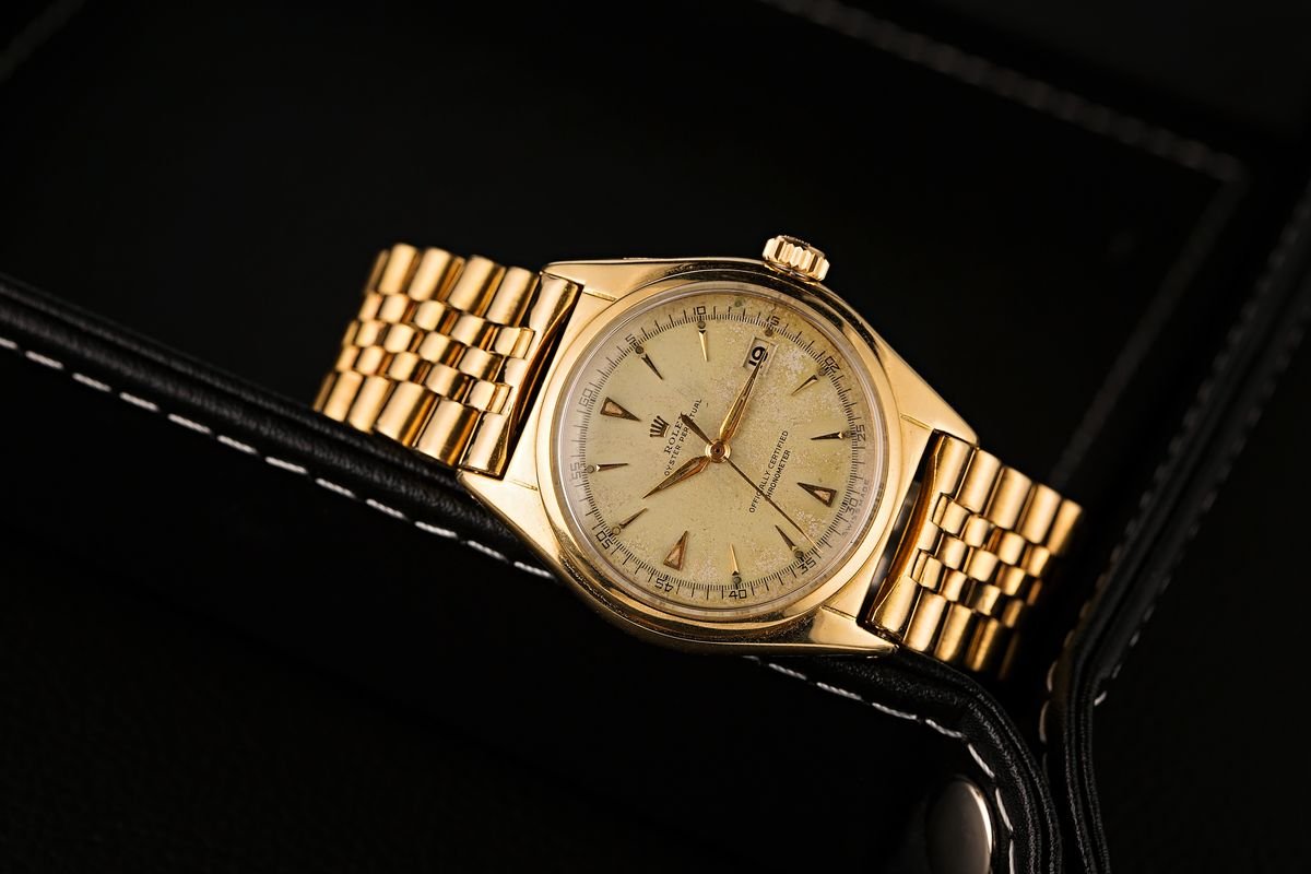 1949 Rolex Ovettone Datejust reference 5030
