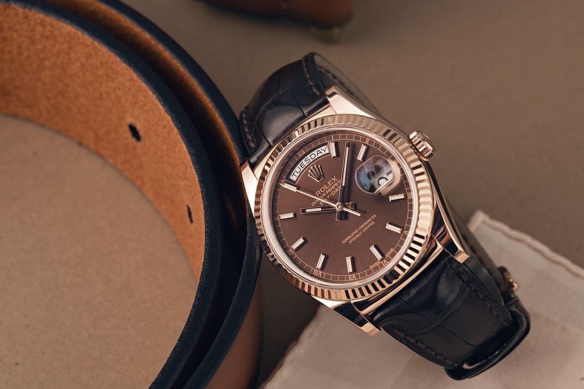 Best Men's Dress Watch Guide Rolex Day-Date 118135