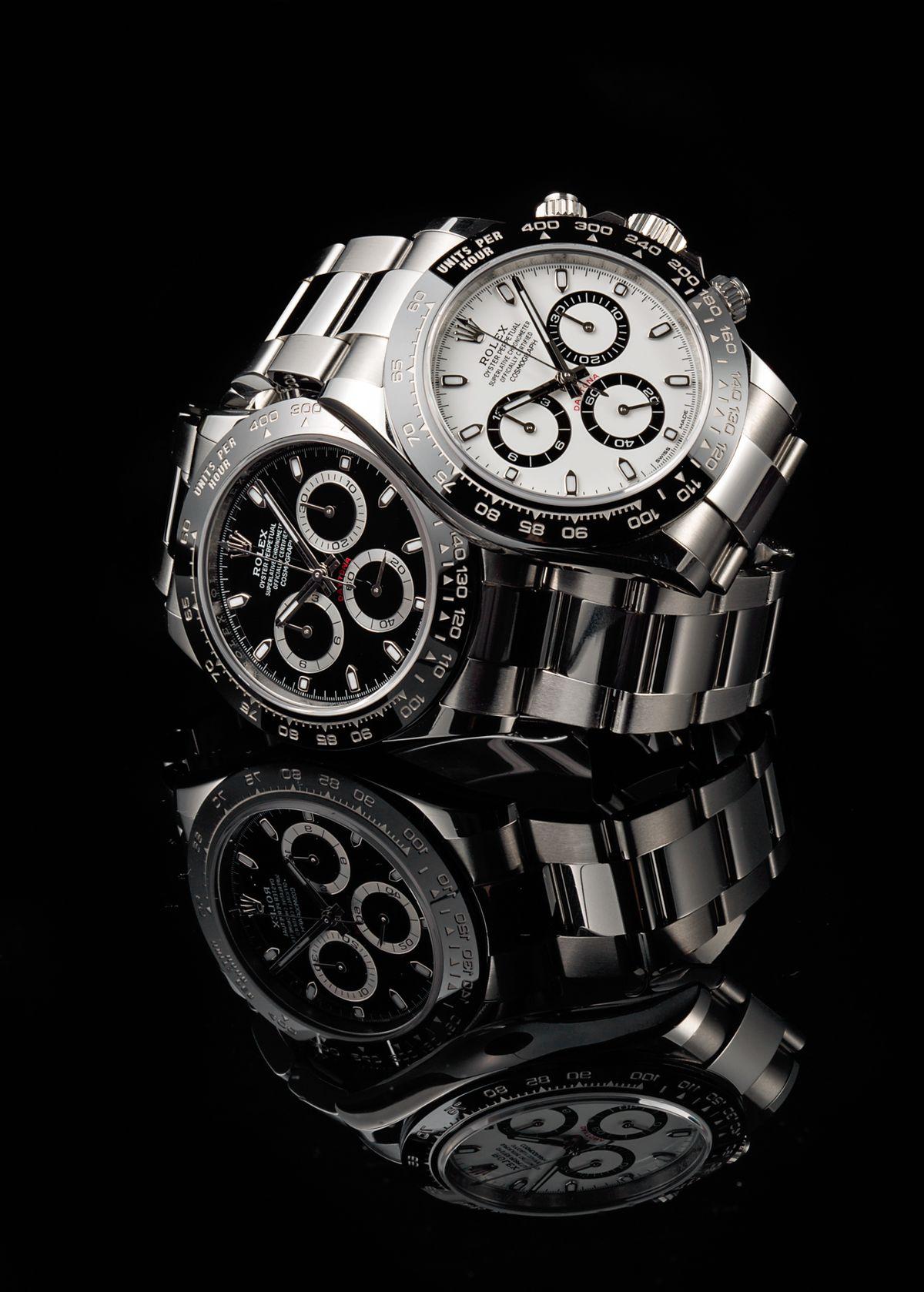 Rolex Shortage - stainless steel Daytona watches