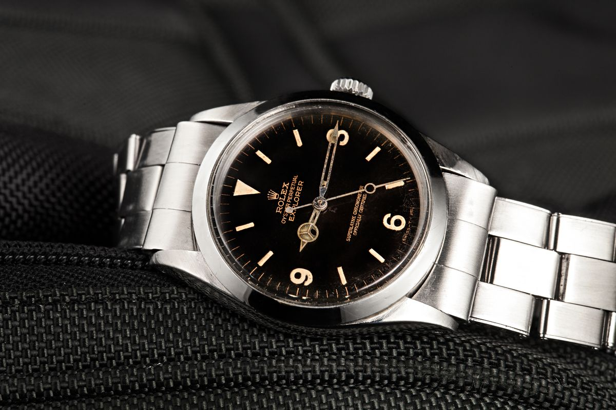 Vintage Rolex Watches Buying Guide Gilt Dial Explorer