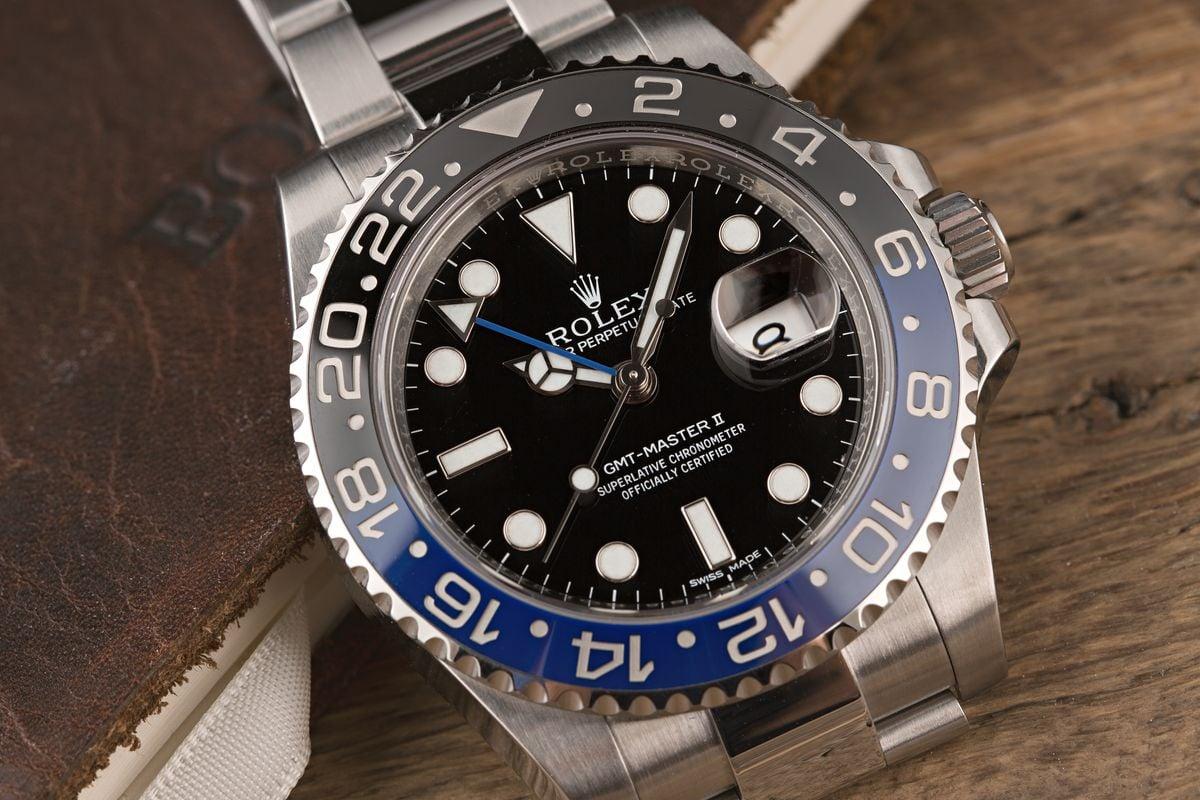 Rolex Shortage - Batman GMT-Master II BLNR 116710