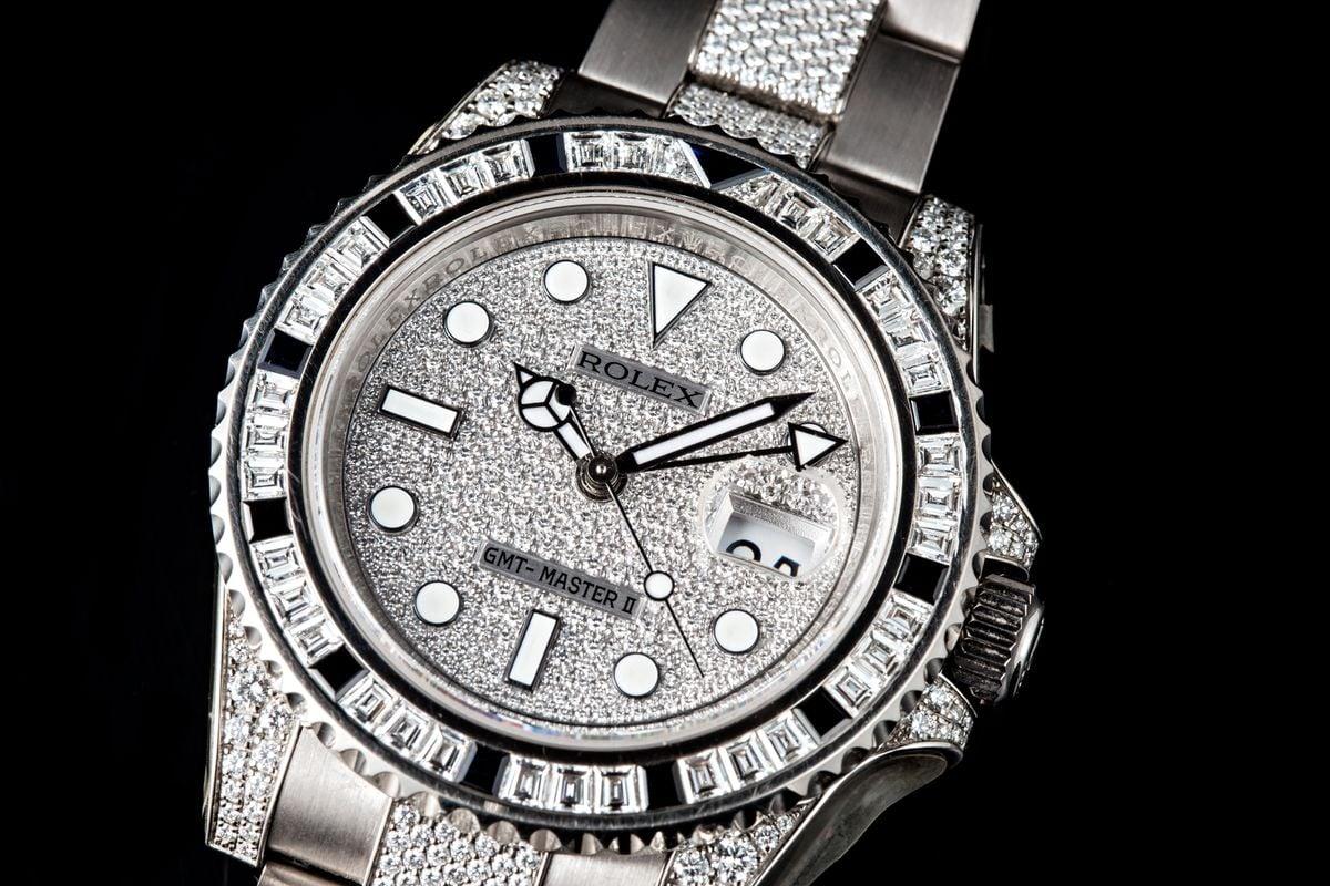 Rolex GMT-Master Bezel Reference Guide Gem-set diamond