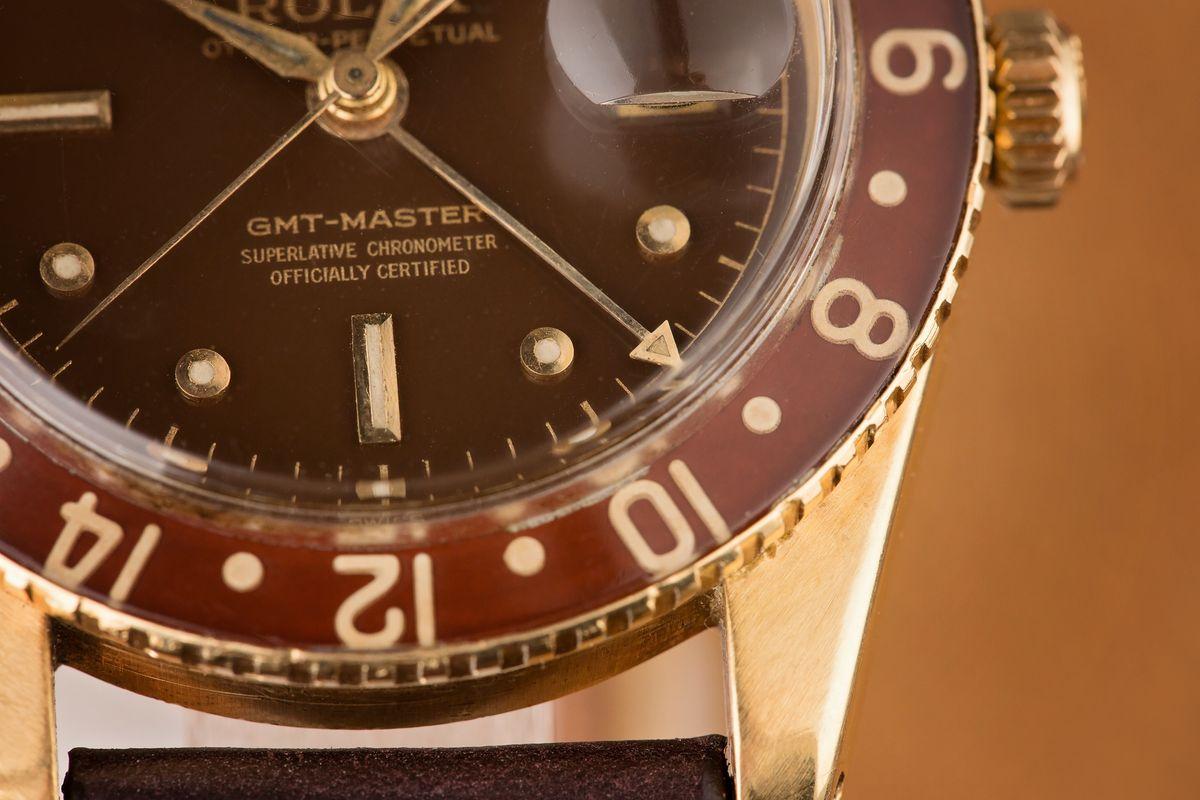 Rolex GMT-Master Bezel Reference Guide original brown Bakelite