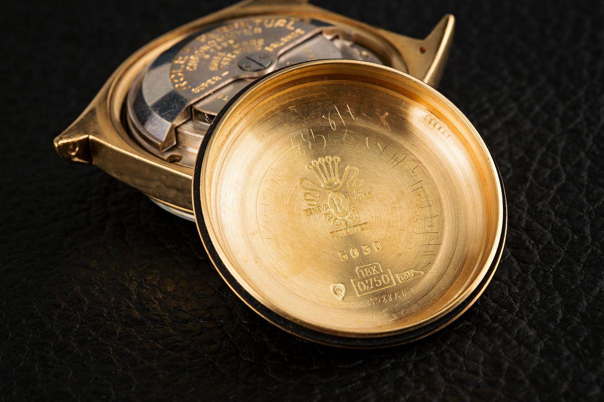 1949 Rolex Ovettone Datejust ref 5030