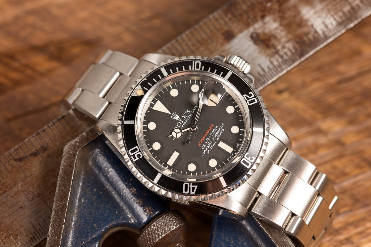 Rolex Submariner Date reference 1680 Red Sub