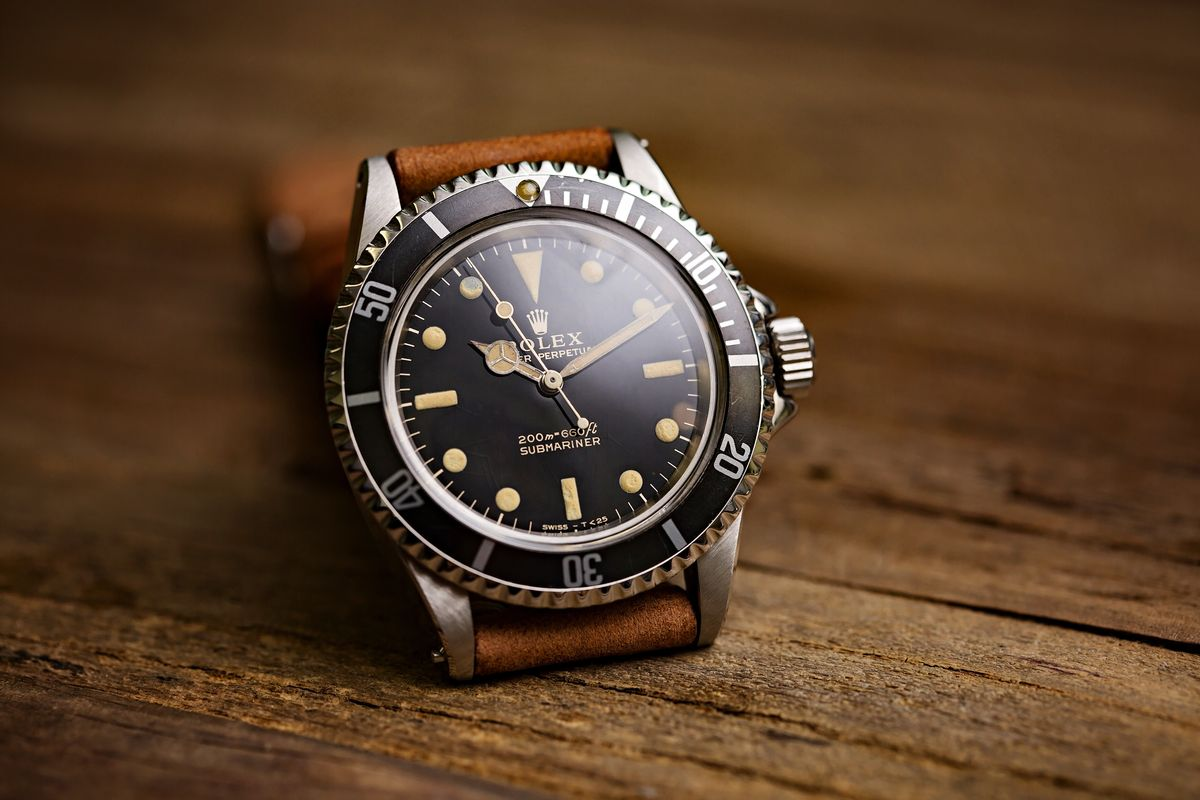 Watch Collecting Tips Value and Collectability Vintage Rolex Submariner 5513