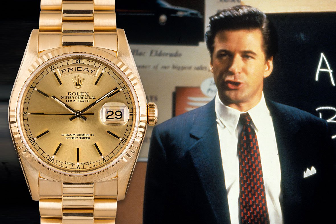 Alec Baldwin Glengarry Glen Ross Rolex Day-Date President