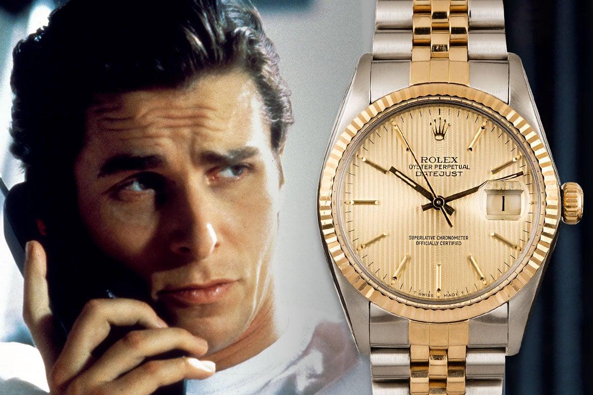 Christian Bale Patrick Bateman American Psycho Rolex Datejust Two-Tone