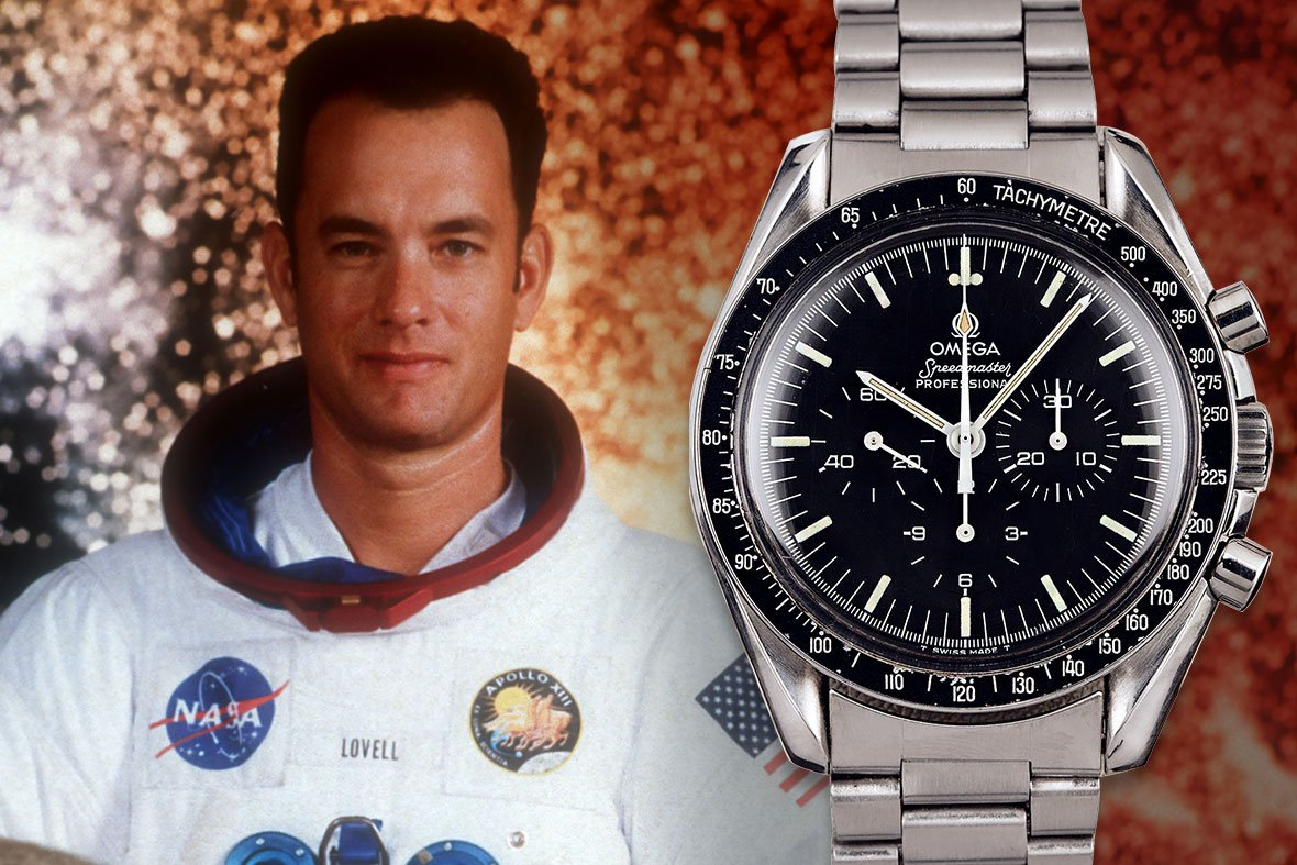 Tom Hanks Apollo 13 Omega Speedmaster Moonwatch