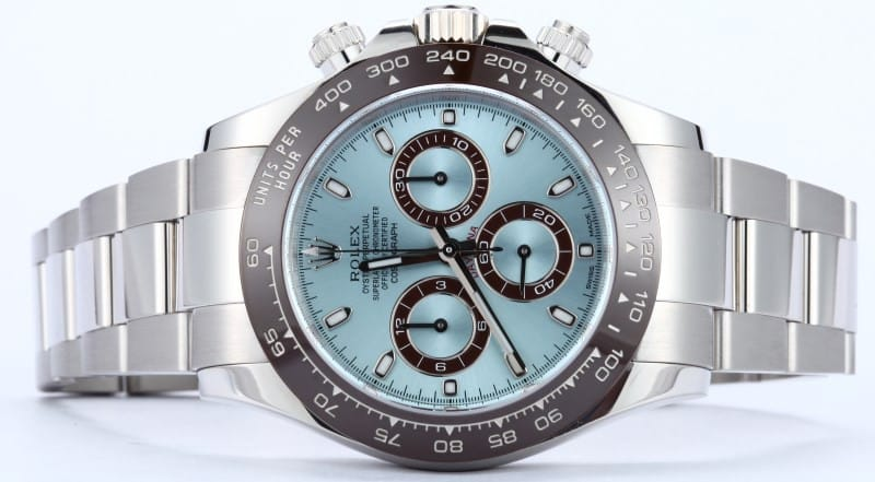 Rolex Daytona Platinum Watch Review 116506