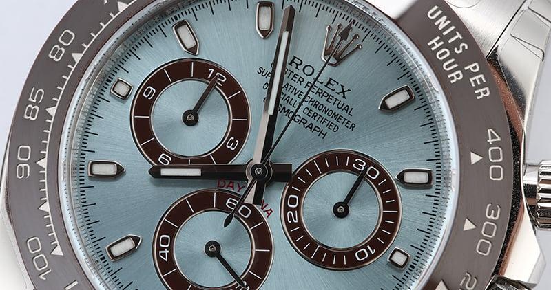 Rolex Daytona Platinum Watch Review brown cerachrom
