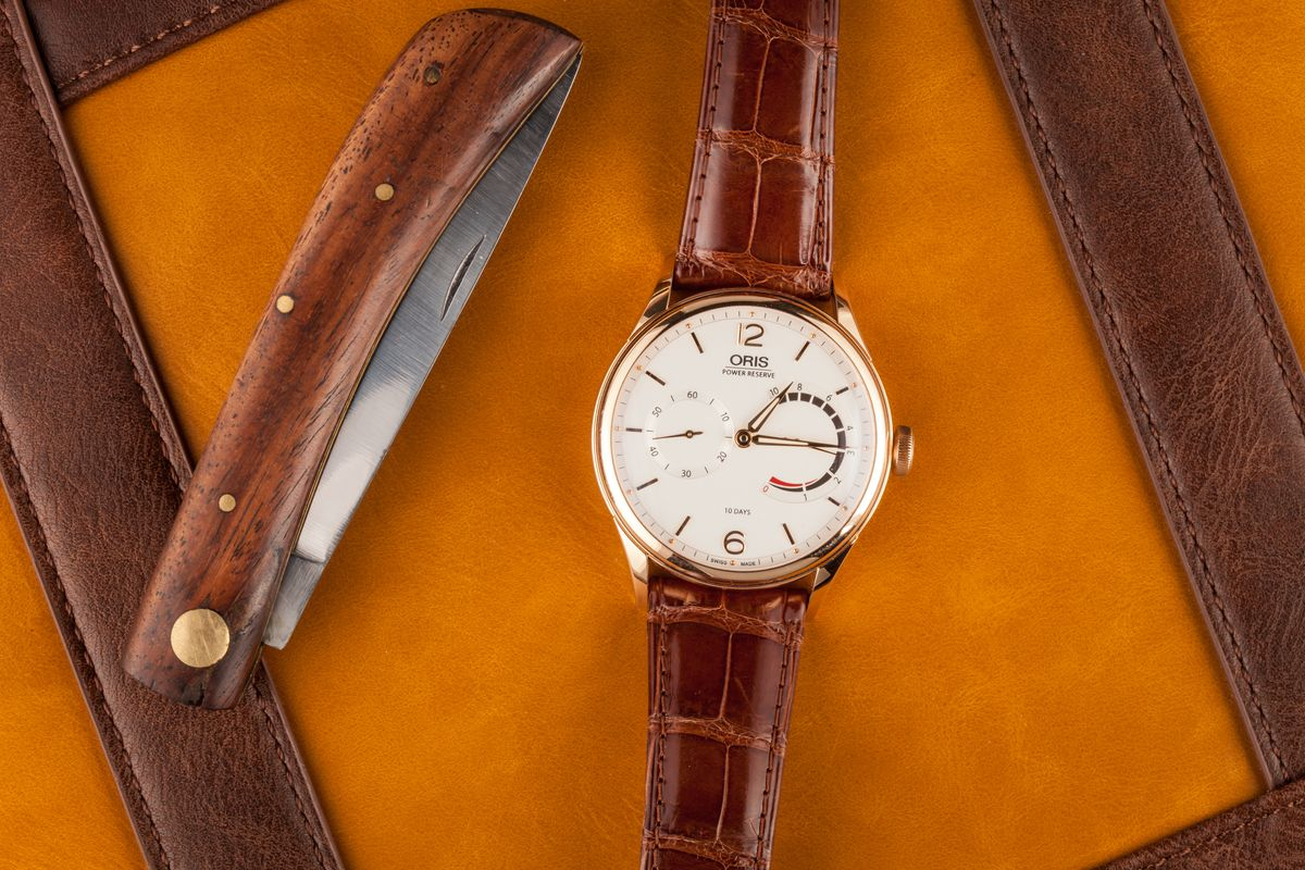 Oris Artelier Watch Collection Review 110 Years Limited Edition In-House Movement 10-Day Power Reserve
