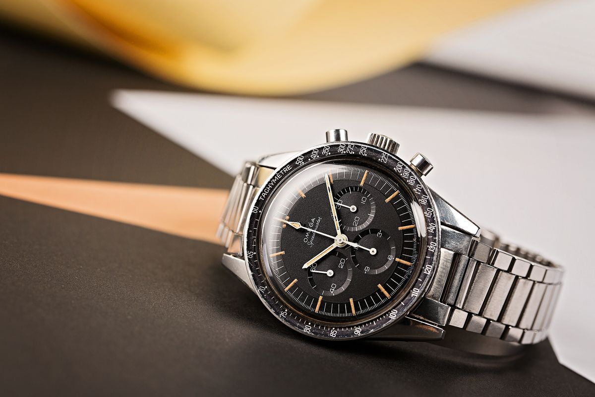 Fresh Finds Vintage Auction 60s Sports Watch Results Omega Speedmaster 105.003