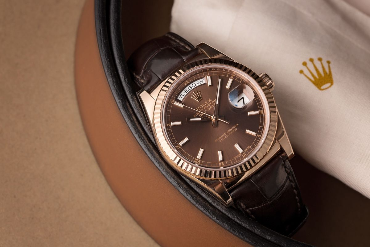 Rolex Day-Date Ultimate Buying Guide Leather Strap