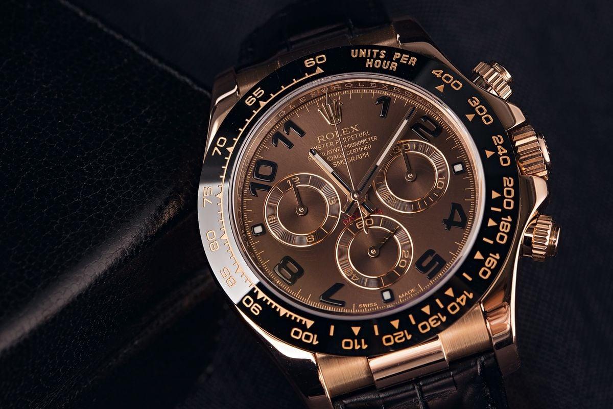 Rolex Daytona Everose Gold 116515LN Ceramic Bezel Chocolate Dial