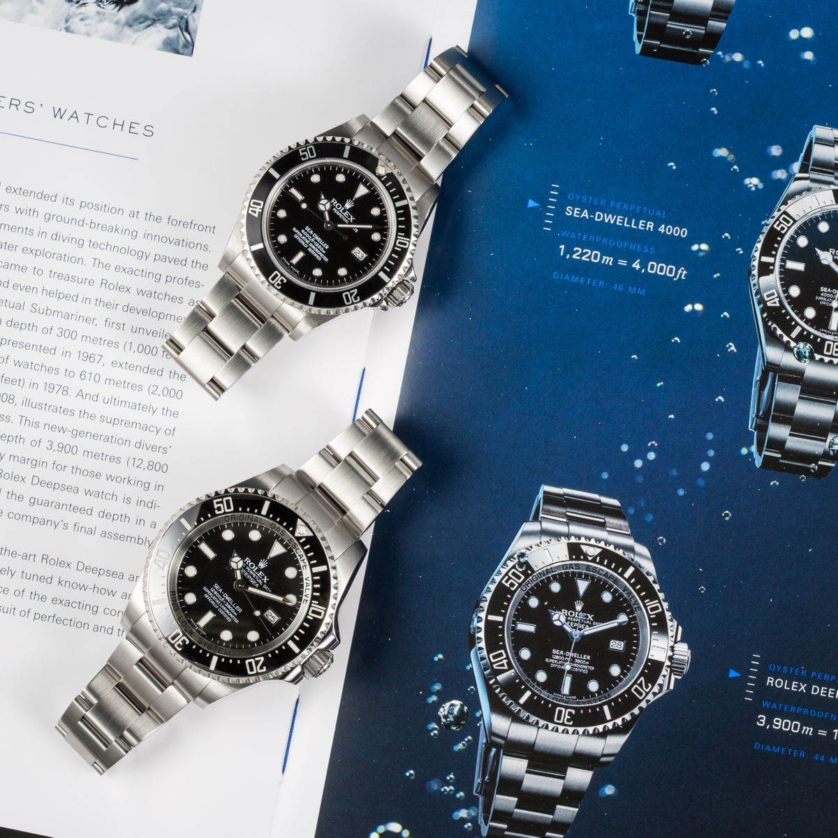 Are Rolex Watches Waterproof dive models