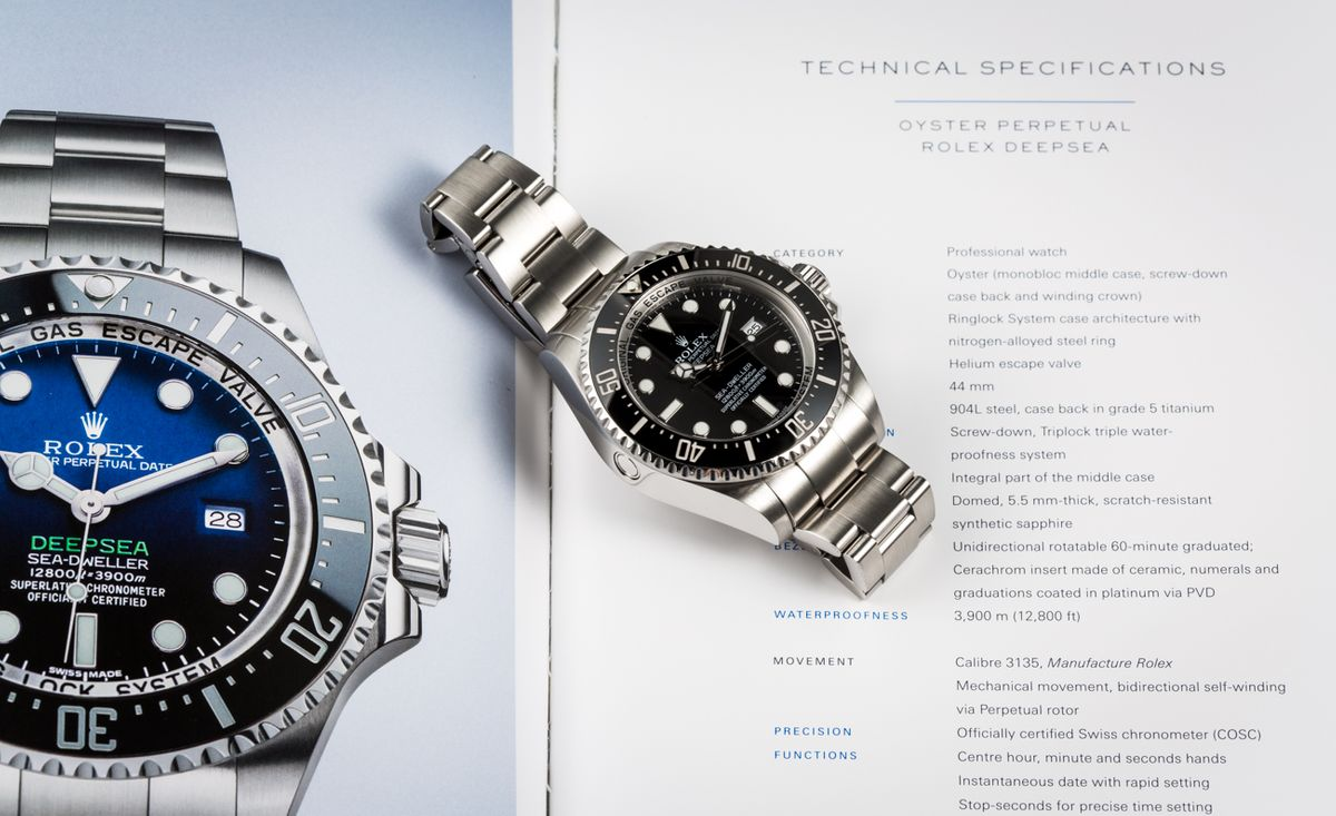Are Rolex Watches Waterproof Sea-Dweller Deepsea