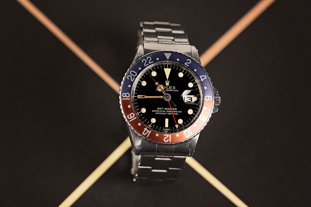 Fresh Finds Vintage Auction 60s Sports Watch Results Rolex GMT-Master 1675