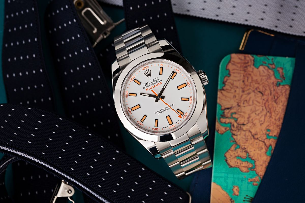 Rolex Milgauss Ultimate Buying Guide 116400 White Dial