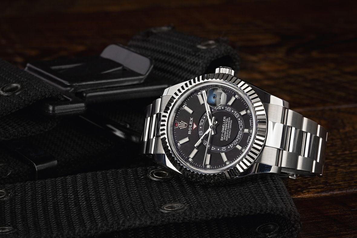 Rolex Sky-Dweller Stainless Steel 326934 Black Dial