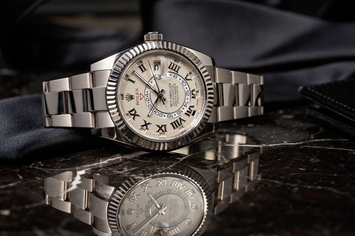 Rolex Sky-Dweller 326939 White Gold Roman Dial