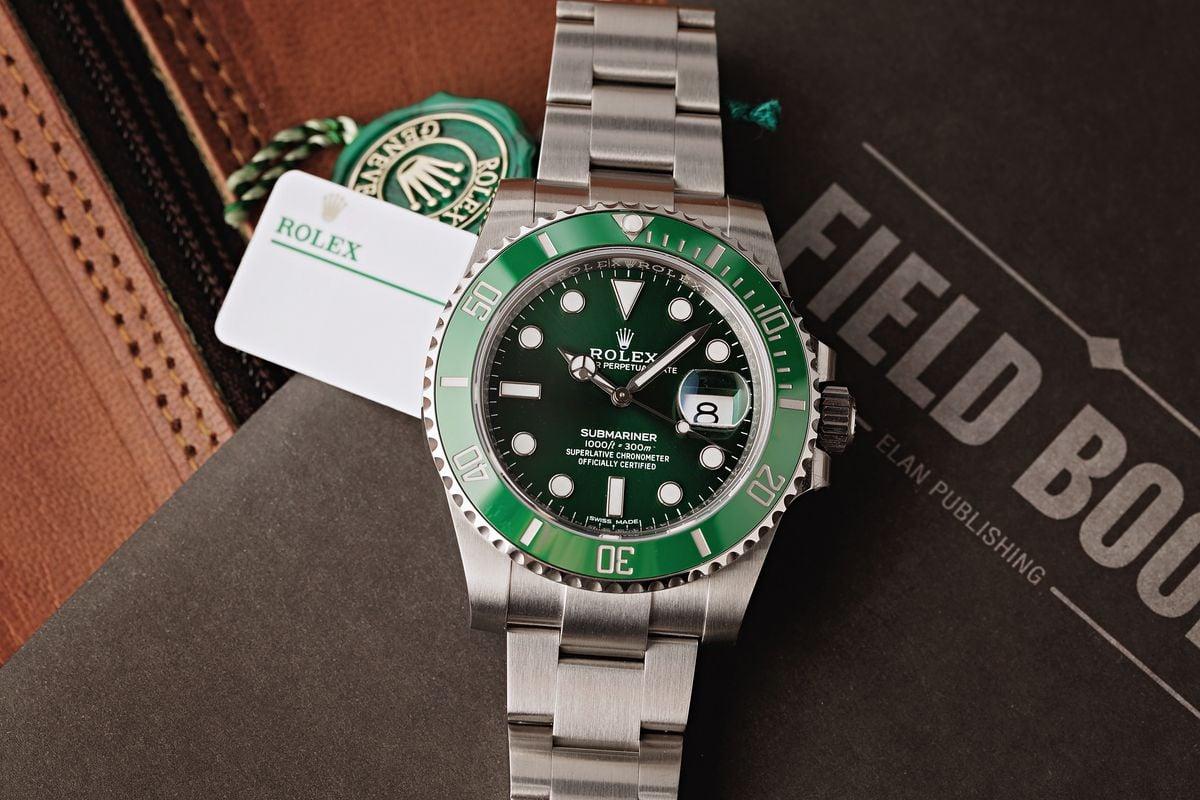 Submariner 116610LV Hulk