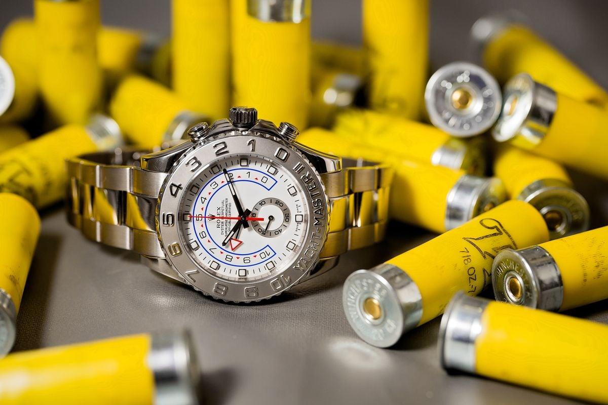 Rolex Yacht-Master II Reference 116689 White Gold Platinum Regatta Timer