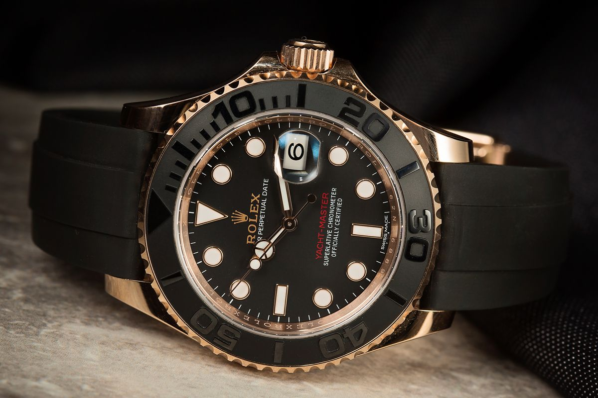 Rolex Yacht-Master Ultimate Buying Guide Everose Oysterflex