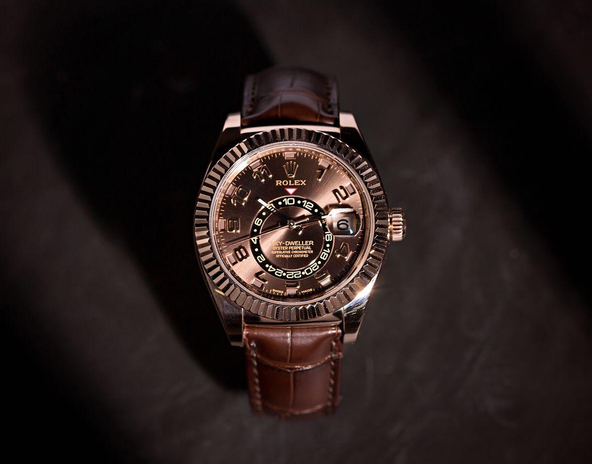 Rolex Sky-Dweller 326135 Everose Gold