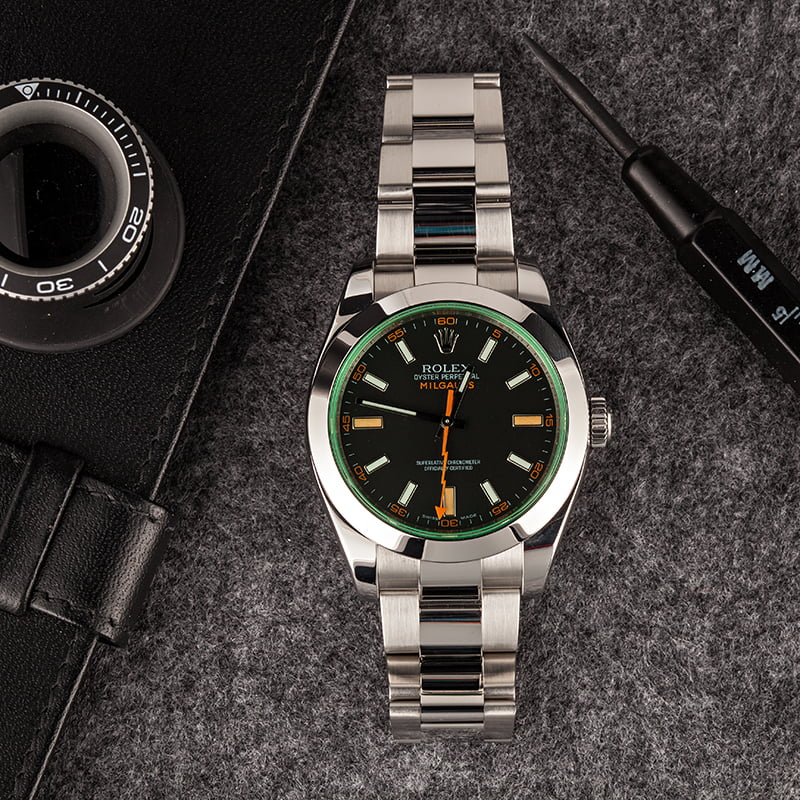 Are Rolex Watches Waterproof Milgauss