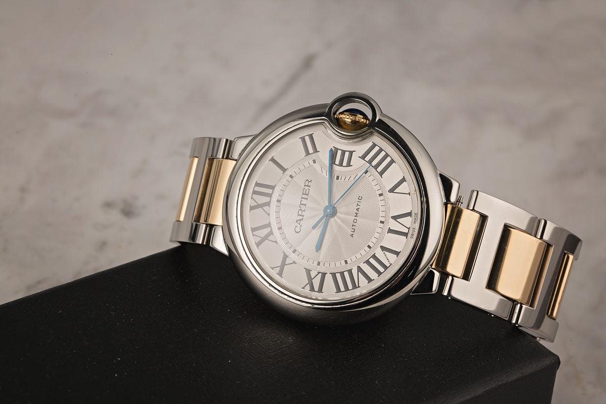 Slender Wrists Cartier