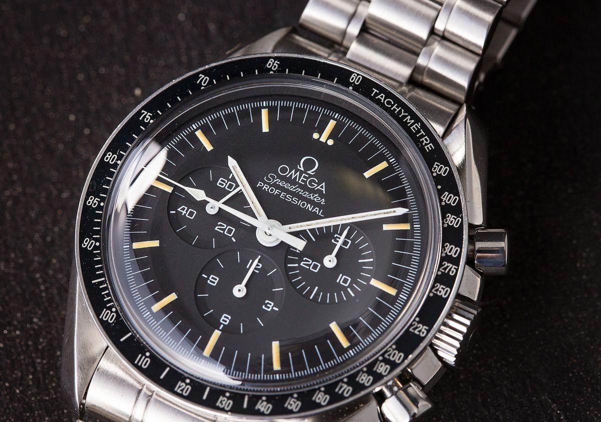 Vintage Omega Speedmaster Moonwatch Tritium Dial