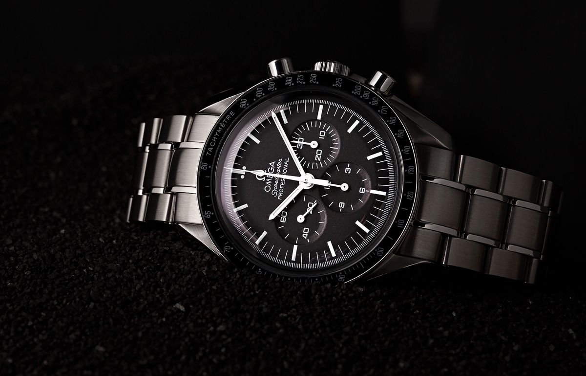 Omega Speedmaster Professional Moonwatch Black Dial