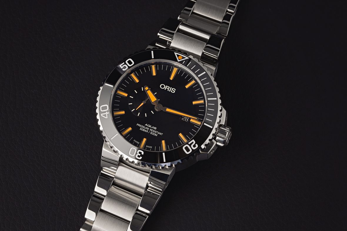 Best Luxury Watches Oris Aquis Small Seconds Stainless Steel