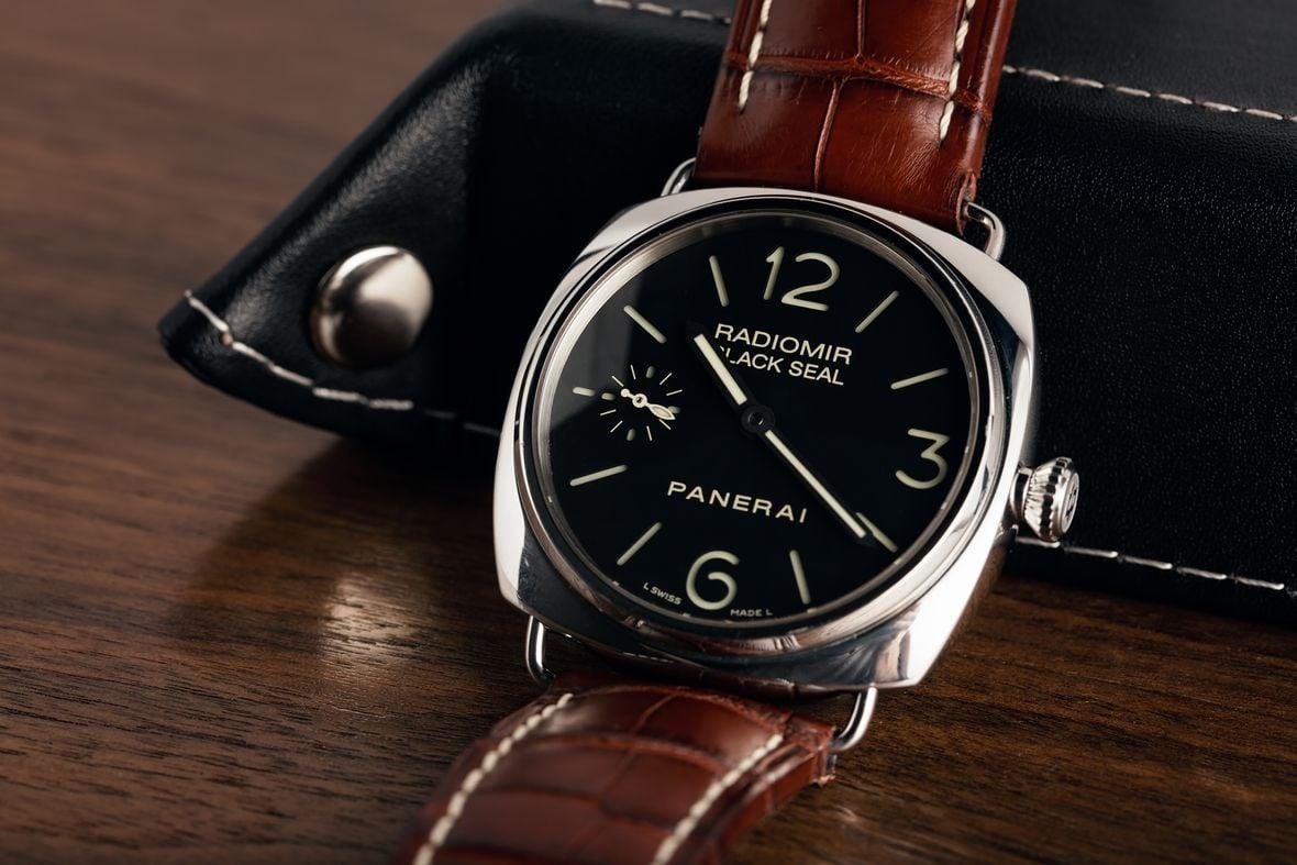 Best Luxury Watches Panerai Radiomir Black Seal Logo Stainless Steel