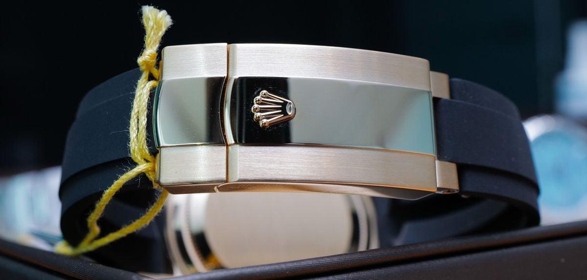 Rolex Sky-Dweller 326235 Everose Oysterflex