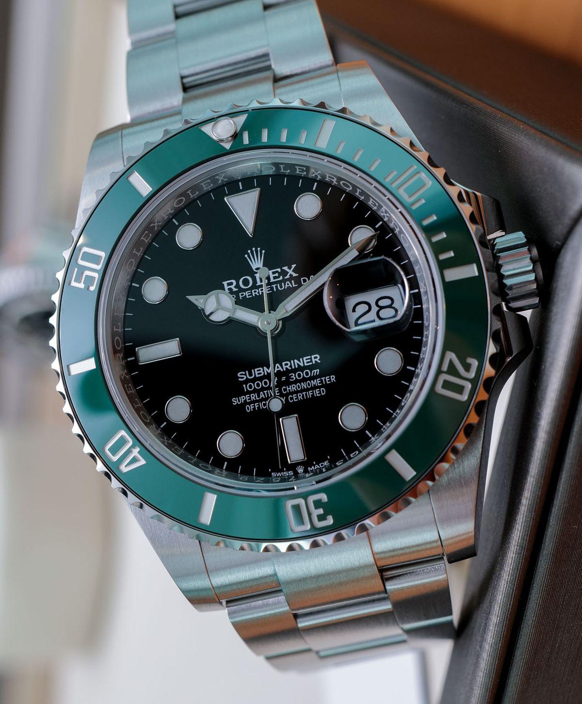 Rolex Submariner Green 126610LV Stainless Steel