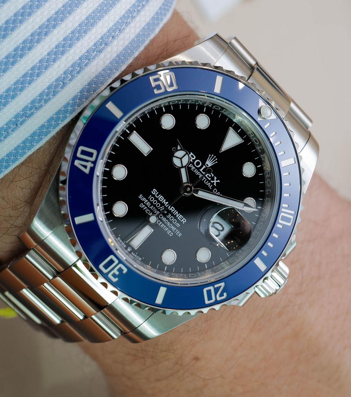 Rolex Submariner 126619LB Blue White Gold