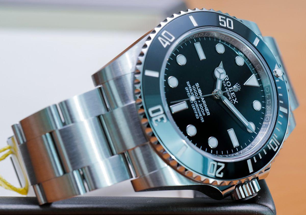 Rolex Submariner 124060 Stainless Steel No-Date Black