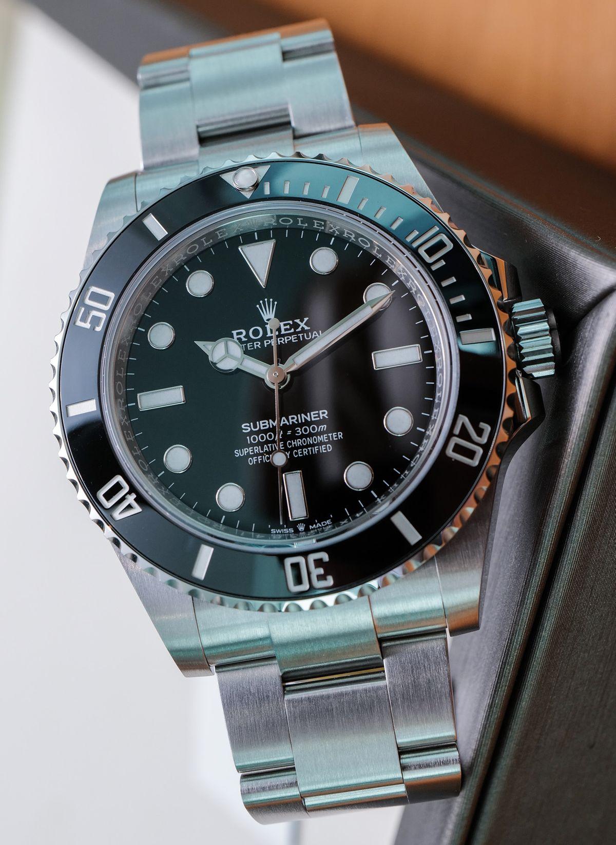Rolex Submariner 124060 No-Date Stainless Steel
