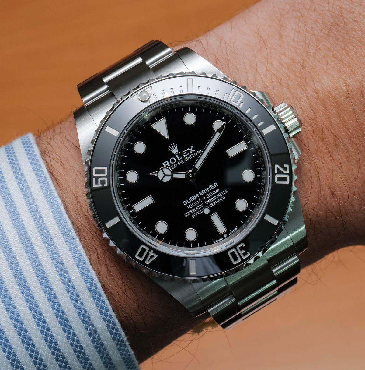 Rolex Submariner No-Date 124060