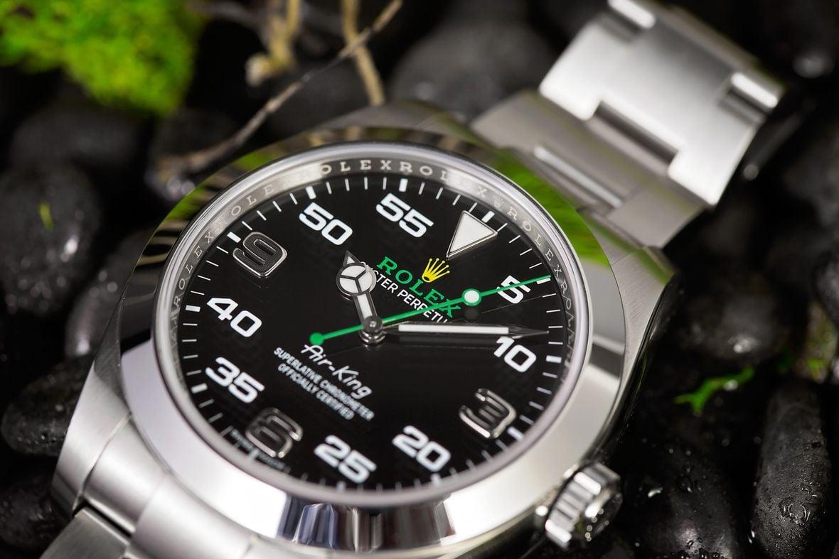 Rolex Air-King 116900 Black dial