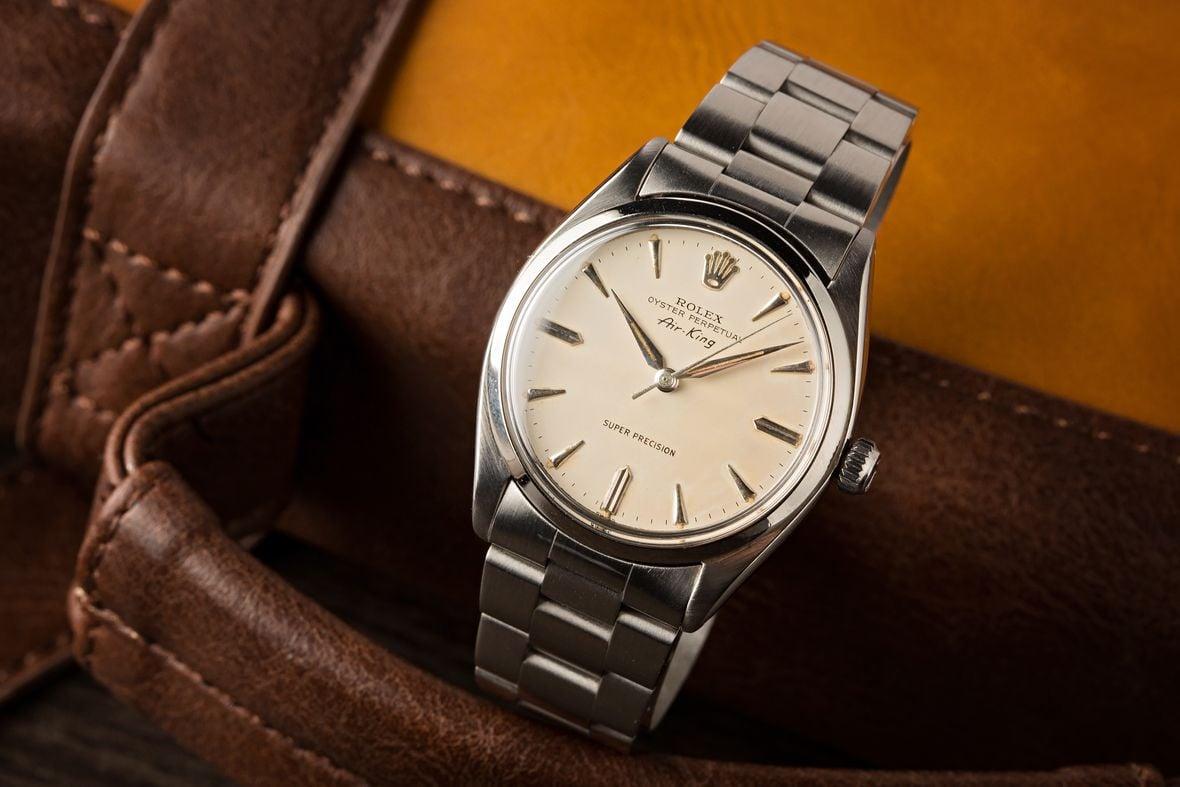Vintage Rolex 5500 Air-King Stainless Steel