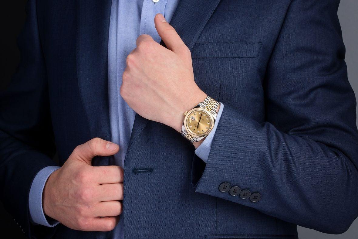 Rolex Datejust 36 Two-Tone Diamond Dial Jubilee Bracelet