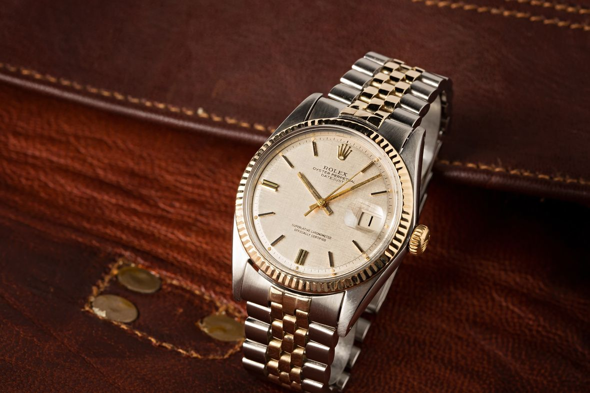 Rolex Datejust 1601 36mm Steel and Gold Rolesor
