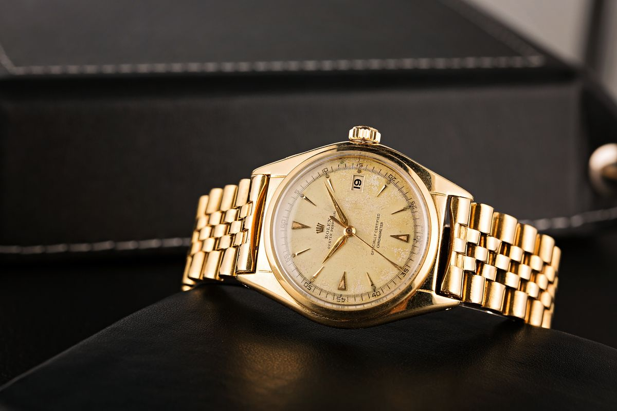 Vintage Rolex Datejust 5030 Gold